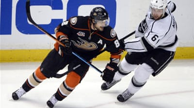 The next match for the Los Angeles Kings is against Stanley Cup champions, the Chicago Blackhawks [Reuters]