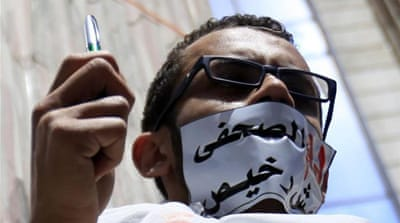 Egypt press freedom attacked amid campaigning