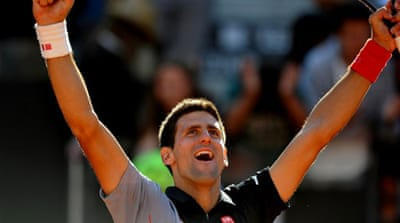 Djokovic will be hoping to land a third Rome title and a 19th Masters 1000 crown [AFP]