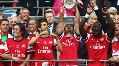 The FA Cup victory at Wembley is Arsenal's first trophy for nine years [Getty Images]