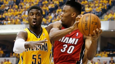 Paul George scored 24 points as Indiana had six players in double-figures on their home floor [Reuters]