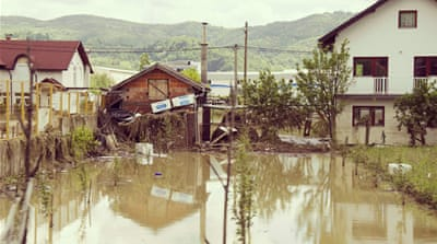 In Pictures: Severe flooding in Bosnia