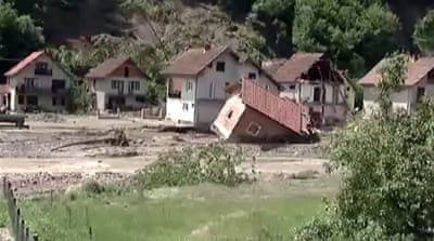 Misery mounts for Balkans flood victims