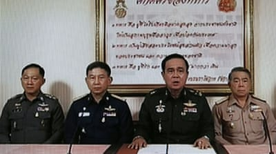 Army takes control of government in Thailand