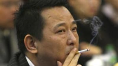 Forbes magazine estimated Liu Han's fortune at $855 million, making him the 148th richest person in China [EPA]