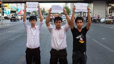 In Pictures: Thais react to military coup