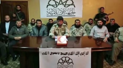 Syria's rebel group voices moderate stance