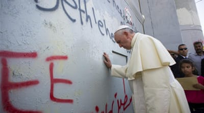 Pope visits Holy Land amid tensions