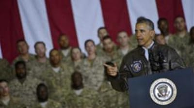 Obama had made a surprise visit to Afghanistan last weekend and met US commanders and forces [EPA]
