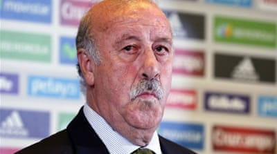 Del Bosque's other strikers include Fernando Torres, Alvaro Negredo and Fernando Llorente [AFP]