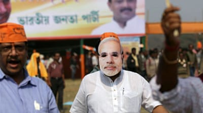The BJP has made inroads into the eastern state of West Bengal once ruled by Left parties [AFP]