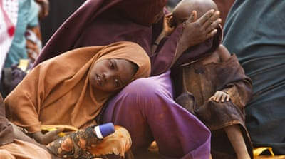 Some 50,000 Somali children under five currently suffer from acute severe malnutrition, according to the UN [EPA]