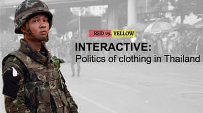 Interactive: Politics of clothing in Thailand