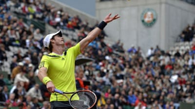 Murray will face Australian Marinko Matosevic or Dustin Brown of Germany next [AFP]