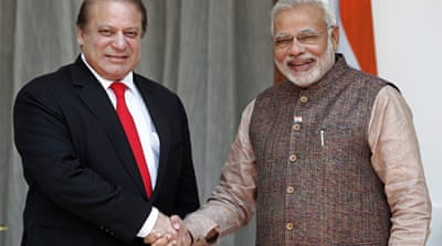 Pakistan and Indian leaders hold formal talks