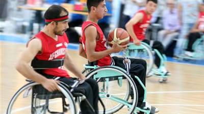 Afghanistan's wheelchair debut