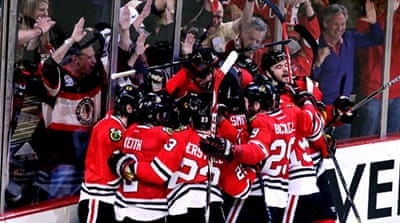 Saad had a goal and two assists for the defending Stanley Cup champions, who end a three-game losing streak [AFP]
