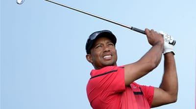 Woods has been sidelined since March after requiring treatment for a pinched nerve in his back [Getty Images]