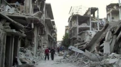 Withdrawal of Syrian rebels from Homs delayed