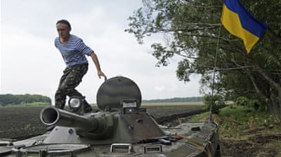 Ukraine to continue army offensive in east