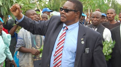 Malawi's Mutharika wins presidential election