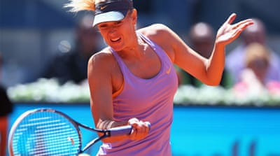 Sharapova cruises through in Madrid [Getty Images]