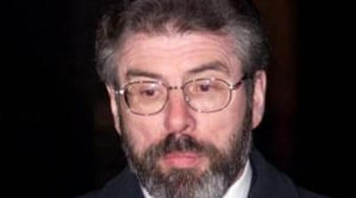 Northern Ireland police release Gerry Adams