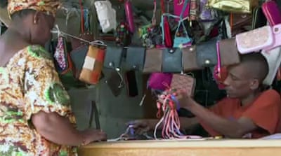 Senegal craftsmen affected by China trade