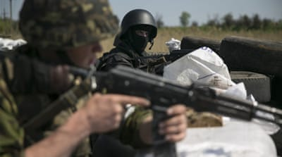 Ukraine soldiers killed in Slovyansk clashes