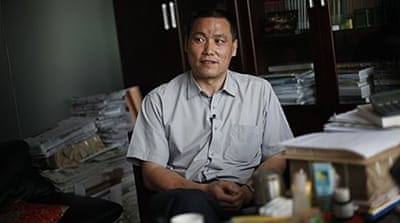 Pu enjoys widespread popularity and news of his detention was circulating widely on Chinese microblogs [EPA]