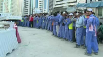 UN urges Qatar to reform labour laws