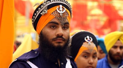 Key amalgam of Sikhs that wields a considerable influence is boycotting polls [Wasim Khalid / Al Jazeera]