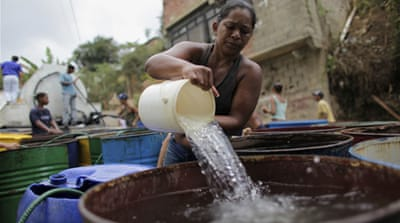 Venezuela's capital faces water rationing