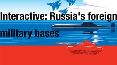 Interactive: Russia's foreign military bases