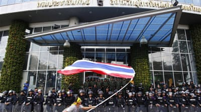 Thai protesters demand removal of government