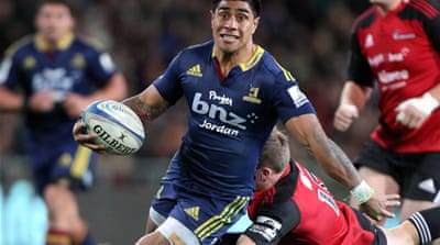 Fekitoa has been outstanding in Super Rugby this season for the Dunedin-based Highlanders [Getty Images]