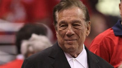NBA Commissioner Adam Silver banned Donald Sterling for life and fined him millions [Getty Images]