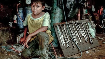 In Pictures: Struggling to end child labour