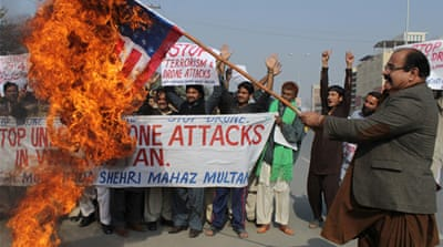 Thursday's strike is the fourth US strike in Pakistani since last month [AP]