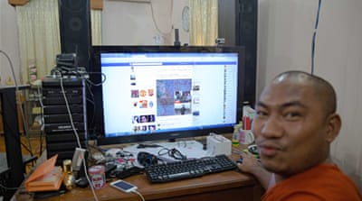 Facebook has gained immense traction in Myanmar in recent years [Hereward Holland/Al Jazeera]
