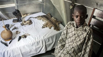 In Pictures: Psychiatric care in DR Congo