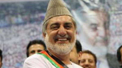 Abdullah has often said that only widespread ballot-rigging could stop him from winning 2014 elections [EPA]