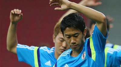 Shinji Kagawa is Japan's key player and wants his team to showcase their ability in Brazil [Reuters]