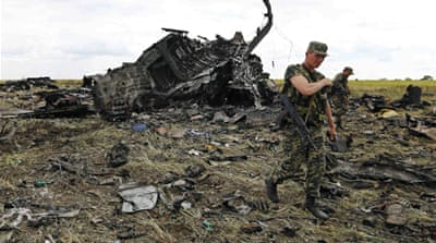 Ukraine hits back after rebels down plane