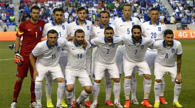 Greece recorded a win and two draws in three World Cup warm-up games [AFP]