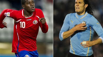 Uruguay will look to look to build upon their fourth-place finish in South Africa four years ago [AFP]