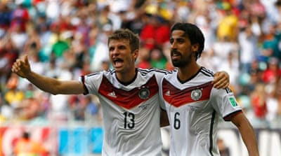Germany sent a clear message to their rival title contenders in Brazil [GALLO/GETTY]