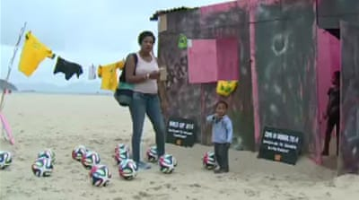 World Cup blues for millions in Brazil