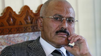UN imposes sanctions on Yemen's ex-president