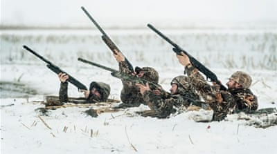 US hunters target National Rifle Association